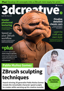 3DCreative: Issue 105 - May 2014 (Download Only)