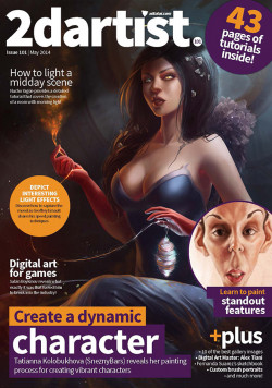 2DArtist: Issue 101 - May 2014 (Download Only)