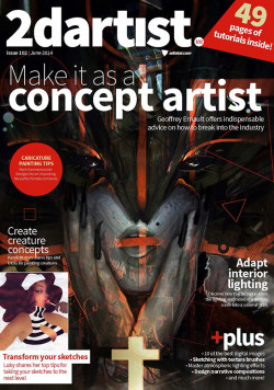 2DArtist: Issue 102 - June 2014 (Download Only)