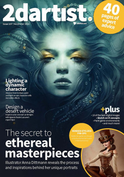 2DArtist: Issue 107 - November 2014 (Download Only)