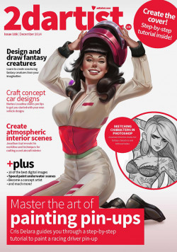 2DArtist: Issue 108 - December 2014 (Download Only)