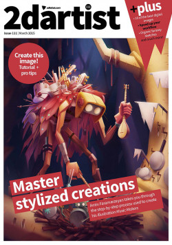 2DArtist: Issue 111 - March 2015 (Download Only)