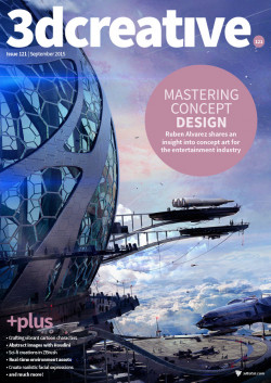 3DCreative: Issue 121 - September 2015 (Download Only)