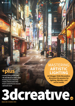 3DCreative: Issue 122 - October 2015 (Download Only)
