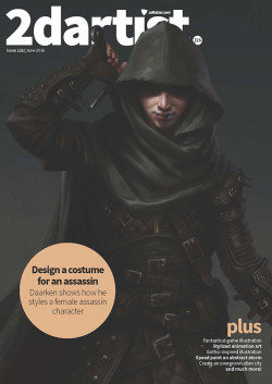 2DArtist: Issue 126 - June 2016 (Download Only)