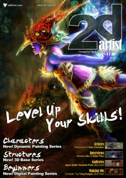 2DArtist: Issue 043 - July 2009 (Download Only)