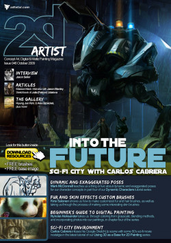 2DArtist: Issue 046 - October 2009 (Download Only)