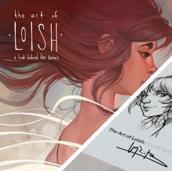 The Art of Loish - with signed bookplate