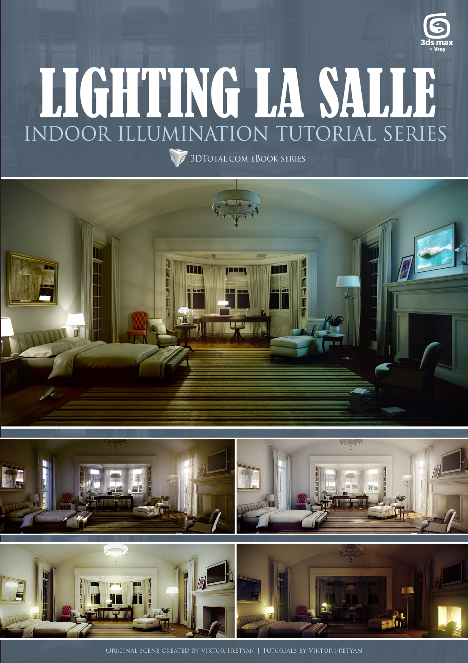 Lighting La Salle 3DSMax + Vray (Download Only)